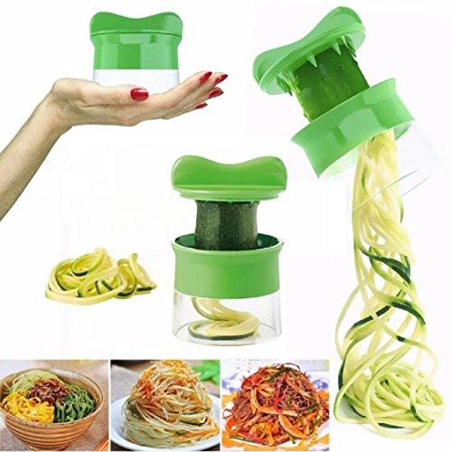 Ikevan Spiral Vegetable Fruit Slicer Cutter Grater Twister Peeler Kitchen Gadgets Tools