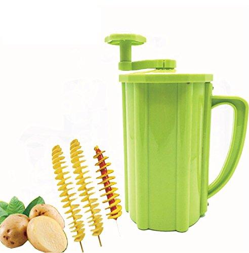 Popular Tornado Potato Slicer Manual Twist Spiral Potato Cutter Whirlwind Potatoes Machine Potato Vegetables Tools