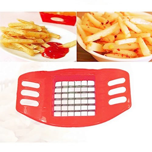 Stainless Steel Potato Cutter Cut Fries Device French Fry Fries Cutter Potato Vegetable Slicer by IDS