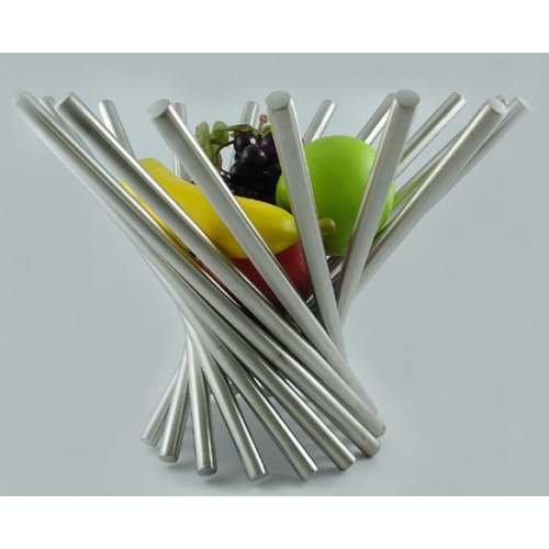 K&D Spiral Stainless Steel Fruit Bowl