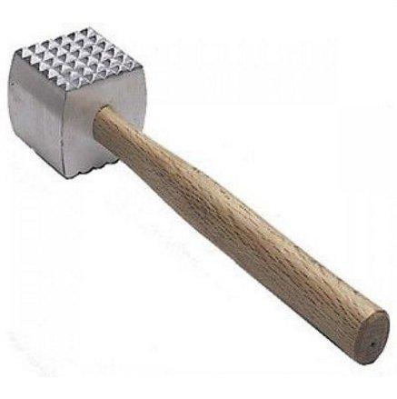BEST PRICE NEW Extra Large Heavy-Duty Meat Tenderizer Mallet Meat Tenderizer Hammer