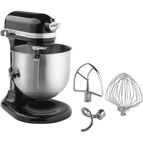 KitchenAid KSM8990OB 8-Quart Stand Mixer with Bowl Lift Onyx Black