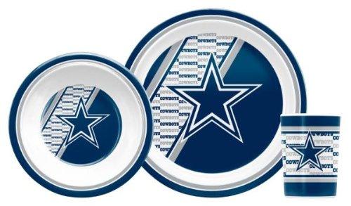 NFL Dallas Cowboys Childrens Dinner Set