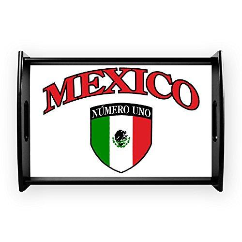 Small Serving Tray Mexico Numero Uno Mexican Flag