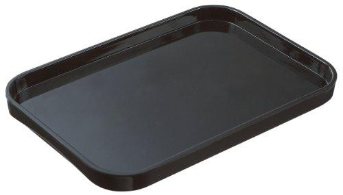 Lustroware K-202 MB Melamine Serving Tray Large Black