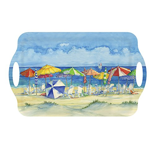 Melamine Serving Trays Plastic Trays Party Trays Food Trays Bed Tray 1875 x 115 Nautical Decor Umbrellas