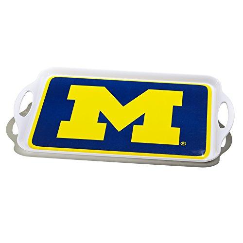 NCAA Michigan Wolverines Melamine Serving Tray