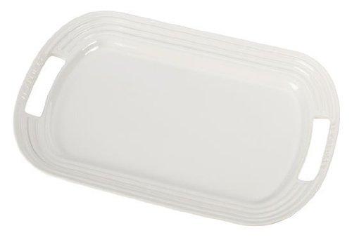 Le Creuset Stoneware 12 Oval Serving Platter White