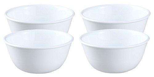 Corelle Livingware 12 Ounce Bowl Winter Frost White - Set of 4
