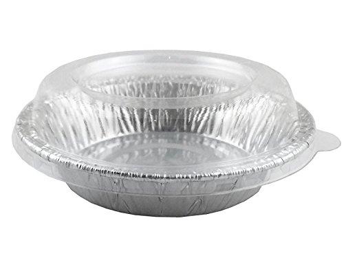 Aluminum Foil For Mini Pie pansTart Pans 3 12 With Lids 20 Sets 20 Pans  Lids 20