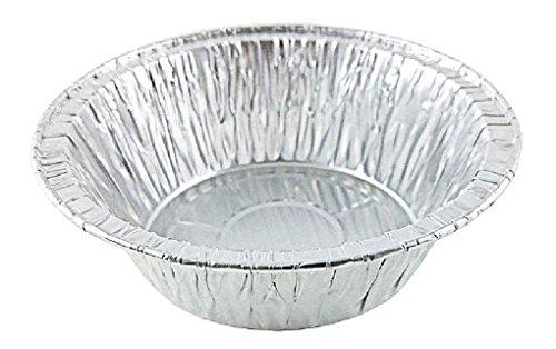 5 34 Deep Aluminum Foil Chicken MeatPot Pie Pan 50PK -Disposable Baking Tins