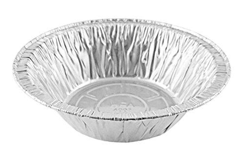 50 Count 5 34 Disposable Aluminum Pot PieDeep Individual Pie Pan 12 oz Capacity