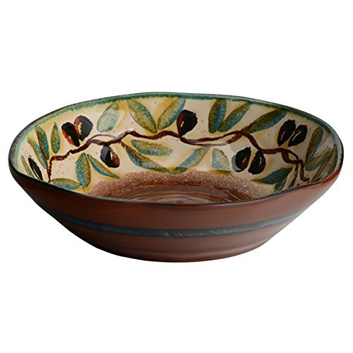 Italian Dinnerware - Soup Bowl - Handmade in Italy from our Olive Collection