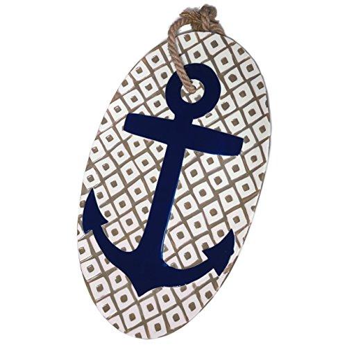 Mud Pie Anchors Aweigh 19 Nautical Ceramic Serving Platter x 115