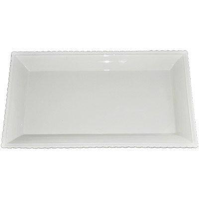 Premium Connection 290-CPLAT KitchenWorthy Ceramic Serving Platter