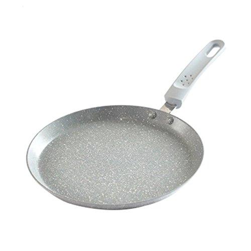 11 inch flat of maifan stone non-stick frying pan ji skin crepe shredded cake class thousand layer of snow cake baking pan Pan gas burner induction cooker