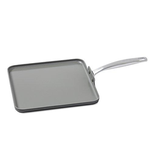 GreenPan Chatham 11 Ceramic Non-Stick Square Griddle Grey