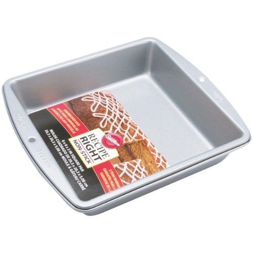 Wilton Recipe Right 8 Inch Square Pan