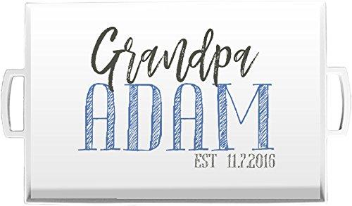 Personalized Serving Tray Grandpa