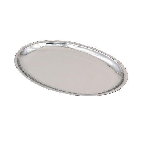 Browne SO128P 11 x 7 Stainless Steel Platter