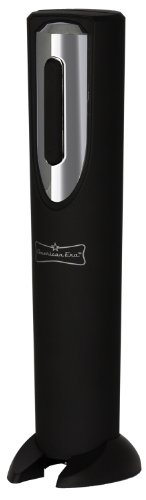 Battery Powered Corkscrew Electric Wine Bottle Opener with Foil Cutter by American Era