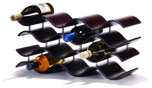 Oenophilia Bali Wine Rack Ebony - 12 Bottle