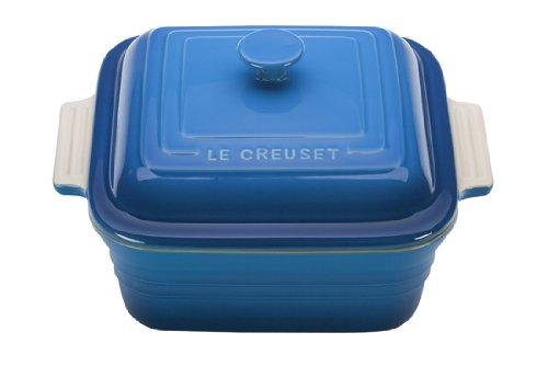 Le Creuset Stoneware 3-Quart Square Casserole with Lid Marseille