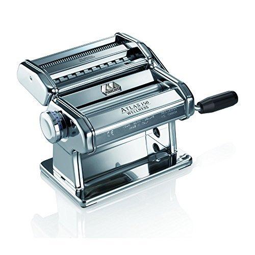 Marcato Atlas Wellness 150 Pasta Maker, Stainless Steel