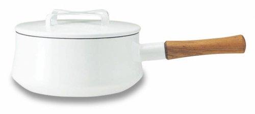 DANSK enamel pot series Koben style II saucepan 18cm white 504 400