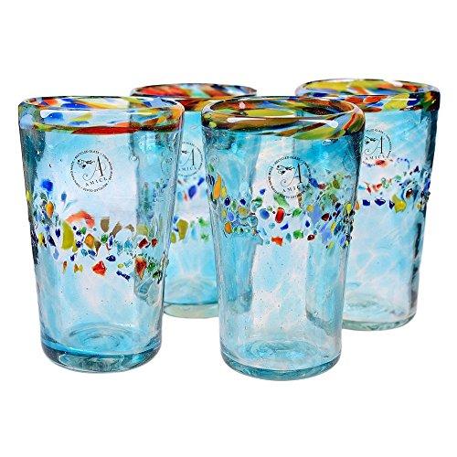Global Amici Del Sol Glass Highballs - Set Of 4