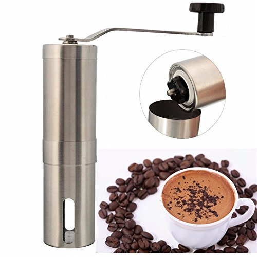 Number-one Stainless Steel Manual Coffee Grinder Hand Coffee Bean Grinder Mill Spices Miller With Ceramic Burr