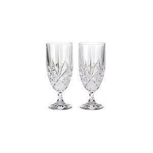 Godinger Dublin Crystal Set Of 8 Iced Beverage Glasses