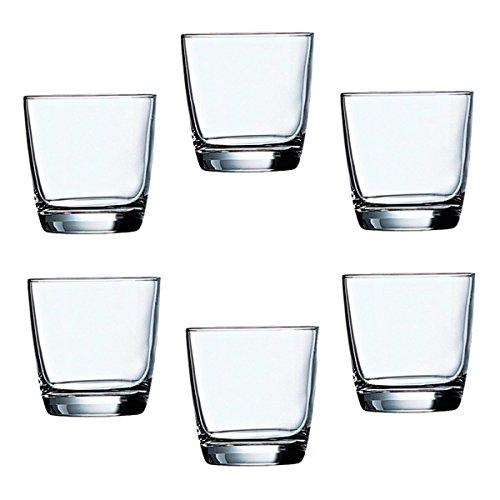 6 Arcoroc Pro Excalibur Old Fashioned 7oz Glasses Set 20875 Rocks Tumbler Bar