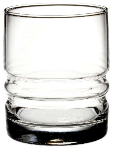 Bormioli Rocco Metropolitan Double Old Fashioned Glasses, Set Of 4, Gift Boxed