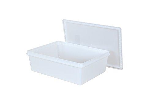 Fish TubsFood Storage Bins 25lb 115 x 155 x 5 Pack of 10 Combos