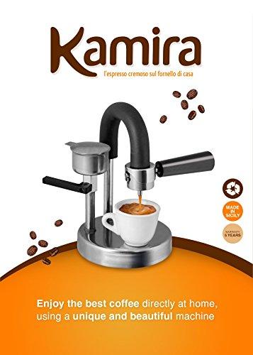 KAMIRA Moka Express 12 Cups Stovetop Espresso Maker MADE IN ITALY