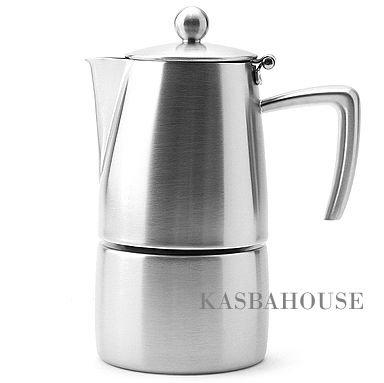 Slancio Stovetop Espresso Maker - 10 Cup