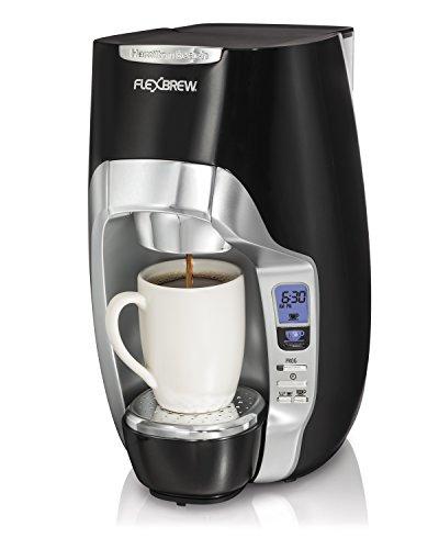 Hamilton Beach 49996 FlexBrew Programmable Single-Serve Coffeemaker Black