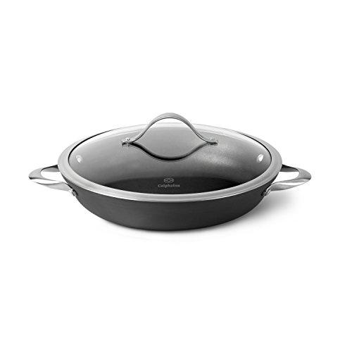 Calphalon Contemporary Hard-Anodized Aluminum Nonstick Cookware Everyday Pan 12-inch Black