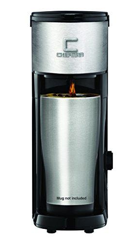 Chefman RJ14-SKG Versa Brew K-Cup Coffee Ground Brewer Black
