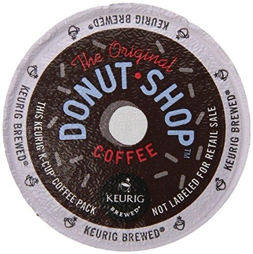 Coffee People Donut Shop Coffee Regular Medium Roast K-Cup Portion Count for Keurig Brewers 24-Count Pack of 4