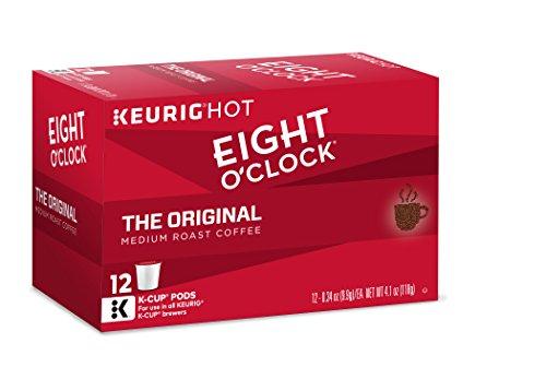 Eight OClock Coffee The Original Keurig K-Cups 12 Count Pack of 6