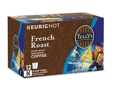 Tullys Coffee French Roast Keurig K-Cups 72 Count