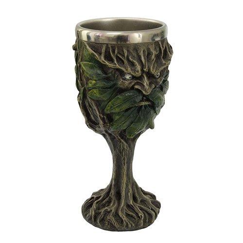 Celtic Greenman Drinking Goblet Chalice Kitchen Decor
