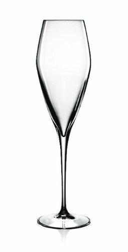 Luigi Bormioli Prestige (atelier) Champagne Flute Glasses, Set Of 4