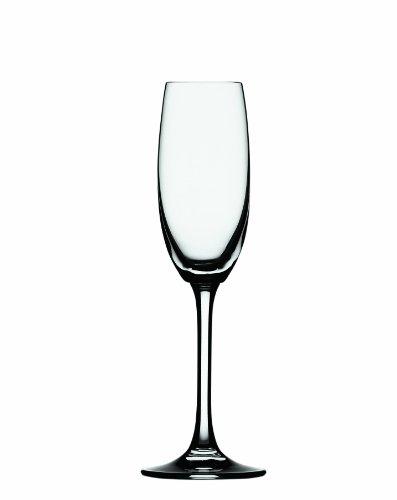 Spiegelau Set Of 2 Festival Champagne Flutes, Clear