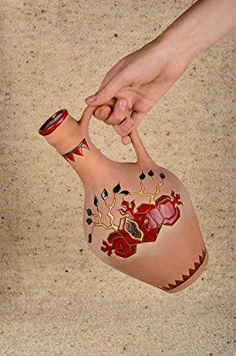 Handmade Pitcher Designer Pitcher Clay Pitcher Clay Dishes Interior Decor