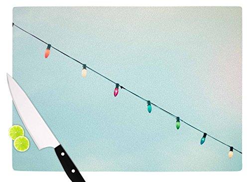 KESS InHouse AB2045ACB01 Ann Barnes Dream A Little Dream Blue Vintage Cutting Board 115 x 825 Multicolor