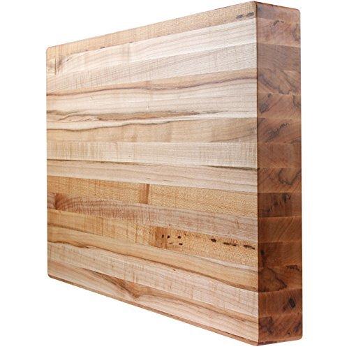 Kobi Blocks Maple Edge Grain Butcher Block Wood Cutting Board 20X25X1