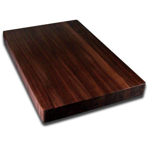 Kobi Blocks Walnut Edge Grain Butcher Block Wood Cutting Board 20 x 24 x 15